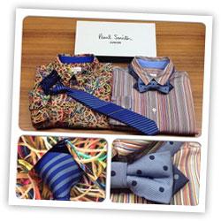 Рубашки, галстук и бабочка Paul Smith Junior